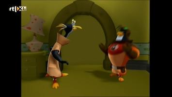3-2-1 Pinguins - Het Monster Met De Groene Ogen