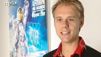 RTL Boulevard Nederlandse kunstenaar ontwerpt albumcover Armin van Buuren