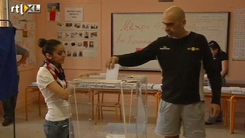 RTL Nieuws Griekenland naar de stembus