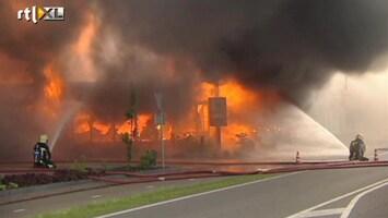 RTL Nieuws Grote brand in restaurant De Lutte