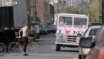 RTL Nieuws Schnitzel uit een vrachtwagen in New York