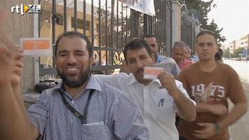 RTL Nieuws Libiërs voor het eerst in 60 jaar naar stembus