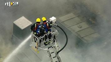 RTL Nieuws Grote brand bedreigt kunstcollectie museum