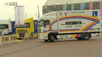 RTL Nieuws Rondje met een vrachtwagen proberen