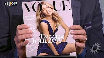 RTL Boulevard Doutzen Kroes op cover Nederlandse Vogue