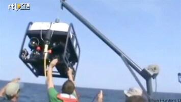 RTL Nieuws Duikers spotten schip met kostbare lading