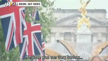 RTL Boulevard Popconcert voor Buckingham Palace