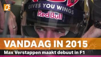 Vandaag in 2015: Piepjonge Max Verstappen maakt F1-debuut