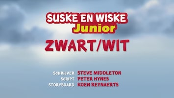 Suske En Wiske Junior Zwart/wit