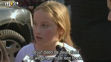 Editie NL Leerlinge: 'We moesten op de grond gaan liggen'