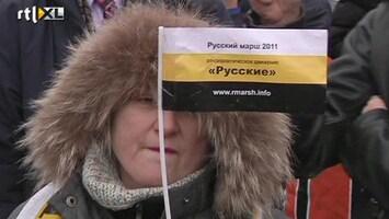 RTL Nieuws Protesten in Rusland houden aan