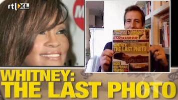 RTL Boulevard Foto Whitney Houston in doodskist