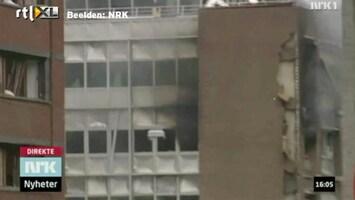 RTL Nieuws Beelden net na bomaanslag Oslo