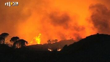 RTL Nieuws Bosbrand bedreigt Spaanse Marbella