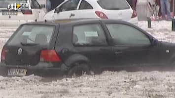 RTL Nieuws Lissabon onder laag hagel