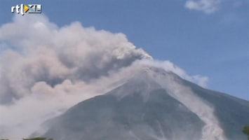 RTL Nieuws Vulkaan uitgebarsten in Guatemala