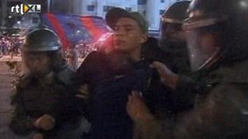 RTL Nieuws Voetbalfans Chili clashen met politie