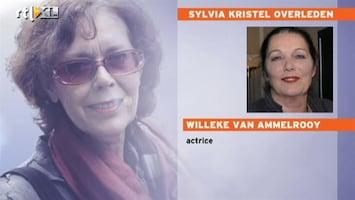 RTL Nieuws Van Ammelrooy: 'Kristel wilde groots en meeslepend leven'