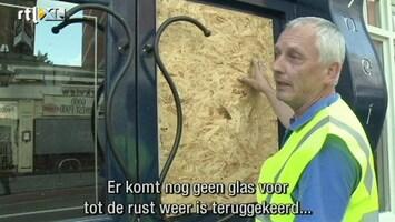 RTL Nieuws Geld verdienen aan de rellen in Londen