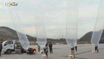 RTL Nieuws Hulp per ballon naar Noord-Korea