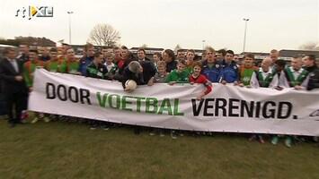 RTL Nieuws Oud-profs in actie tegen voetbalgeweld