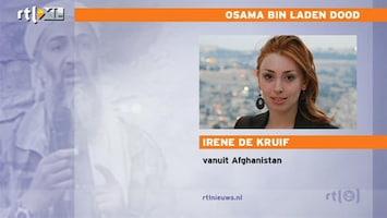 RTL Nieuws Irene de Kruif vanuit Afghanistan