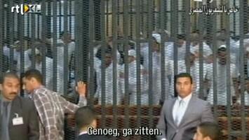 RTL Nieuws Rellen bij massaproces Caïro