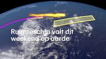 Ruimteschip valt dit weekend op aarde