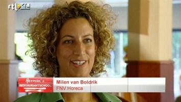 Herman's Restaurant School - De Groep Maakt Kennis Met Milen Van Boldrik Van Fnv Horeca.
