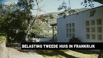 RTL Z Nieuws Tweede huisjes Frankrijk zwaarder belast