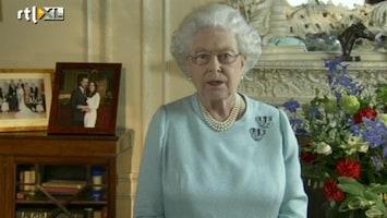 RTL Nieuws Queen Elizabeth bedankt volk in tv-speech