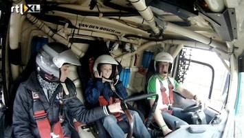 RTL GP: Dakar Pre-proloog Taxirit - Peter van den Bosch - 2