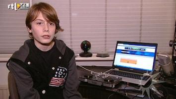 RTL Boulevard John de Mol tikt 13-jarige op vingers