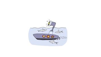 Doodle Submarine