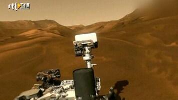 RTL Nieuws Curiosity onderzoekt kans op leven op Mars