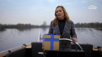 RTL 4's Onvergetelijke Feestdagen Angela Groothuizen vaart moeder Yvonne in de armen van haar drie zoontjes