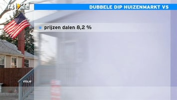 RTL Z Nieuws 16:00 25% Amerikanen heeft een hypotheek hoger dan waarde huis