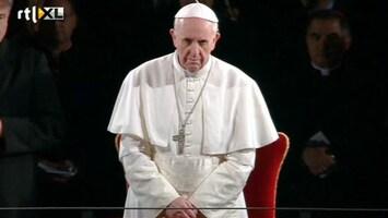 RTL Nieuws Eerste Goede Vrijdag met paus Franciscus