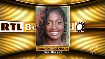Zarayda Groenhart voor even in Kanye-wereld