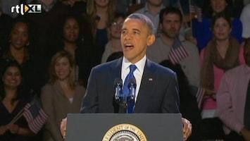RTL Nieuws De opzwepende speech van Obama samengevat