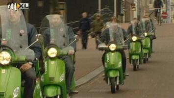 RTL Nieuws Elektrische scootertaxi's in Amsterdam