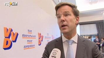 RTL Nieuws Rutte gaat met de pet in de hand vragen om steun