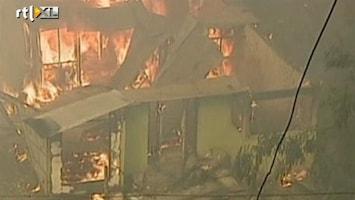 RTL Nieuws Huizen in de as door bosbranden