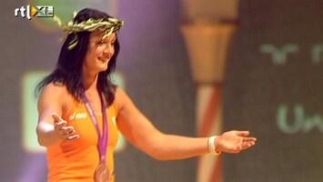 RTL Nieuws Olympische helden feesten in HHH