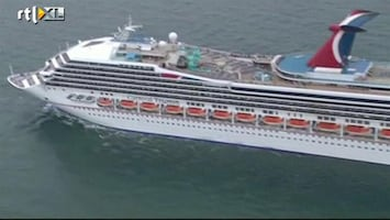 RTL Nieuws Cruiseschip stuurloos in Golf van Mexico