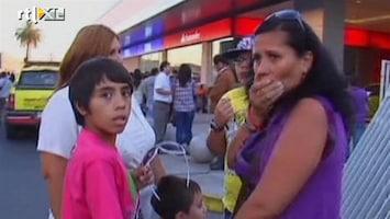 RTL Nieuws Aadbeving in Chili