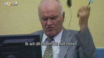 RTL Nieuws 'Mladic lastpak voor het tribunaal'