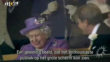 RTL Boulevard Paard koningin Elizabeth wint op Royal Ascot