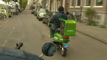 RTL Nieuws Scooter nieuwe taxi in Amsterdam