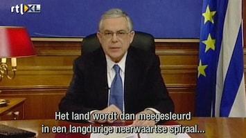 RTL Nieuws Grieks parlement stemt over bezuinigingen